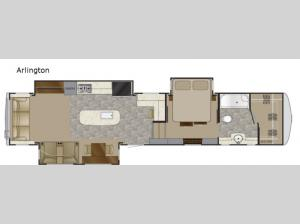 Landmark 365 Arlington Floorplan Image