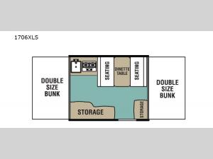 LS Series 1706XLS Floorplan Image