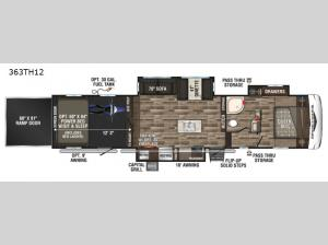 Sportster 363TH12 Floorplan Image