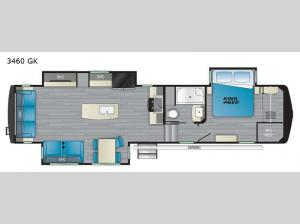 Big Country 3460 GK Floorplan Image