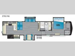 Big Country 3703 RK Floorplan Image