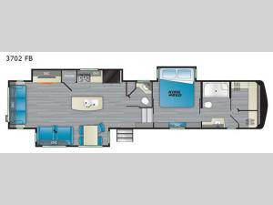 Big Country 3702 FB Floorplan Image