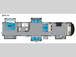 Big Country 3895 FK Floorplan Image