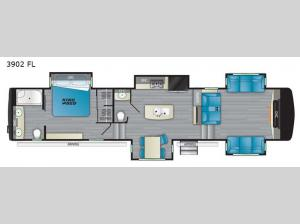 Big Country 3902 FL Floorplan Image