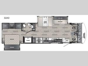 Georgetown 3 Series 32A3 Floorplan Image