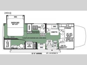 Forester MBS 2401Q Floorplan Image