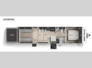 Cherokee Grey Wolf Black Label 26MBRRBL Floorplan Image