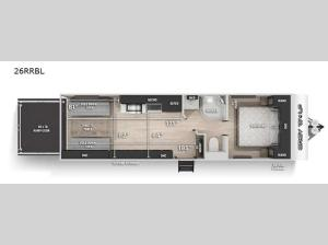 Cherokee Grey Wolf Black Label 26RRBL Floorplan Image