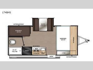 Catalina Summit Series 7 174BHS Floorplan Image