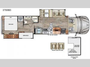 DynaQuest XL 3700BD Floorplan Image