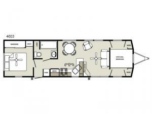 Summit 40JJ Floorplan Image