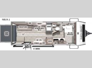 No Boundaries NB19.1 Floorplan Image