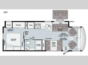 Sunstar 29V Floorplan Image