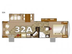 Arctic Fox 32A Floorplan Image