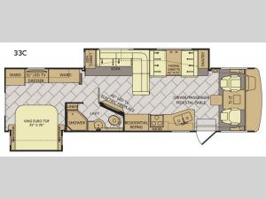 Bounder 33C Floorplan Image