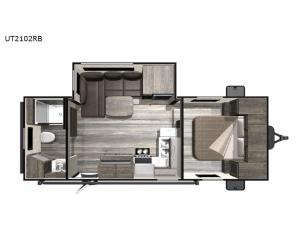 Open Range Ultra Lite UT2102RB Floorplan Image