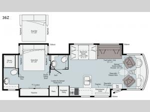 Adventurer 36Z Floorplan Image