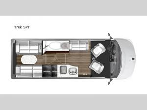 National Traveler Trek SPT Floorplan Image