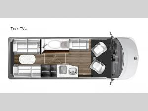 National Traveler Trek TVL Floorplan Image