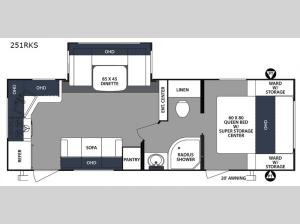 Surveyor 251RKS Floorplan Image