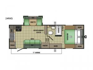 AR-ONE MAXX 24RKS Floorplan Image
