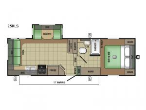 AR-ONE MAXX 25RLS Floorplan Image