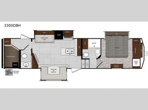Impression 3300DBH Floorplan Image