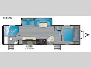 North Trail 31BHDD Floorplan Image