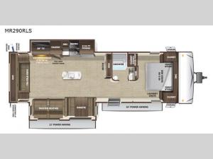 Mesa Ridge Limited MR290RLS Floorplan Image