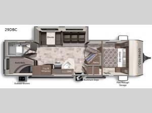 Colorado 29DBC Floorplan Image