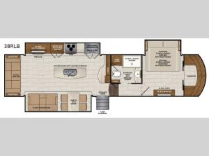 Beacon 38RLB Floorplan Image