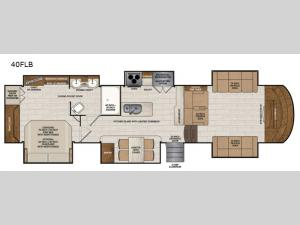 Beacon 40FLB Floorplan Image