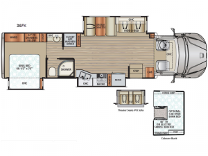 DX3 36FK Floorplan Image