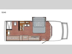 BT Cruiser 5240 Floorplan Image