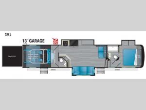Road Warrior 391 Floorplan Image