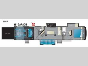 Road Warrior 3965 Floorplan Image