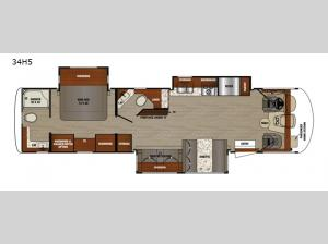 Georgetown 5 Series 34H5 Floorplan Image