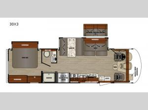 Georgetown 3 Series 30X3 Floorplan Image