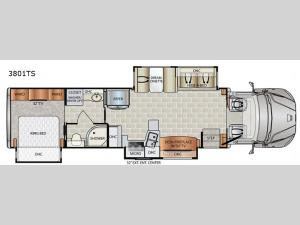 DynaQuest XL 3801TS Floorplan Image