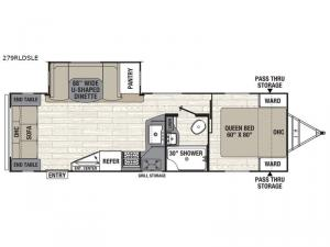 Freedom Express Liberty Edition 279RLDSLE Floorplan Image