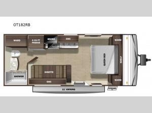 Open Range Conventional OT182RB Floorplan Image