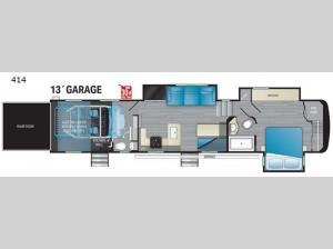 Road Warrior 414 Floorplan Image