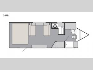 Rush 24FB Floorplan Image