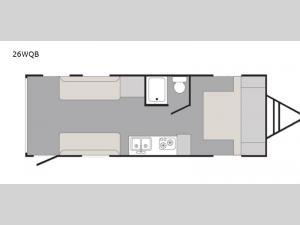Rush 26WQB Floorplan Image