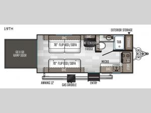 Rockwood GEO Pro 19TH Floorplan Image