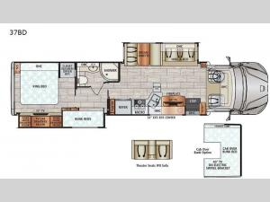 DX3 37BD Floorplan Image