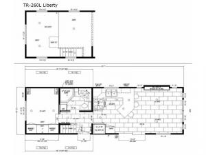 Timber Ridge TR-260L Liberty Floorplan Image