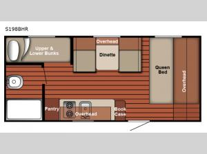 Serro Scotty S198BHR Floorplan Image