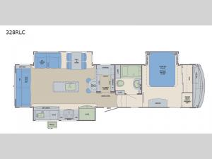 Columbus Compass 328RLC Floorplan Image