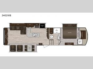 Sanibel 3402WB Floorplan Image